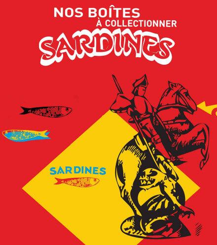 Nos boîtes à sardines